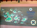 Fun map of the Galapagos