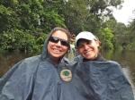 Rain in the Canoe!