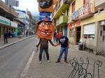 Weird masks in the street