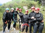 Our group preparing for canyoning!