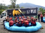 A river rafting high 5