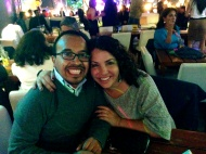 We spent New Year's eve salsa dancing at a club in the Mariscal.